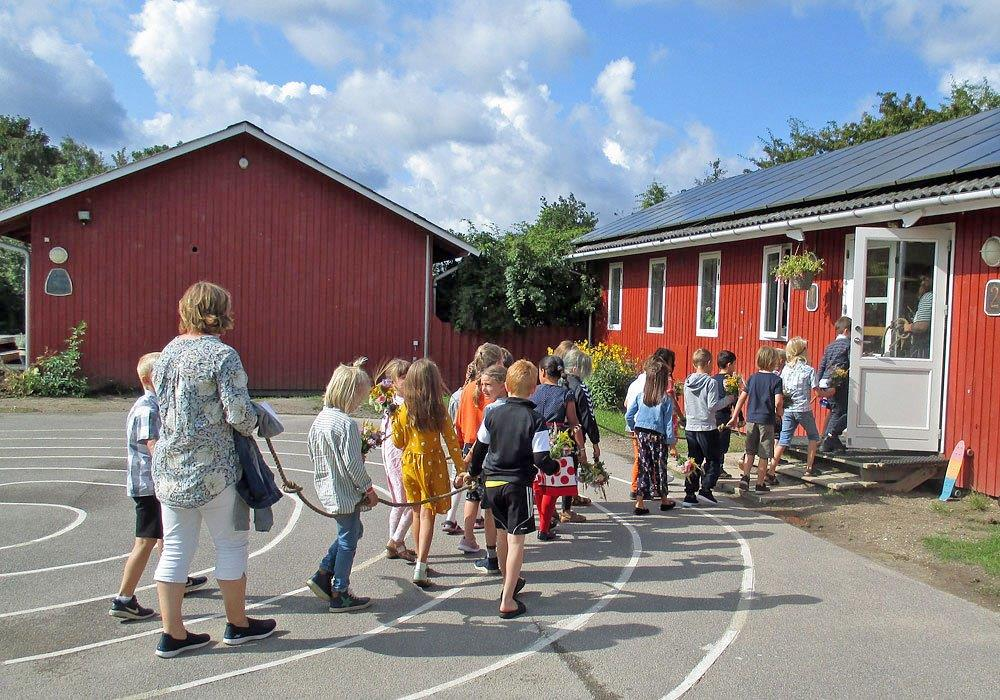 1. klasse – første skoledag