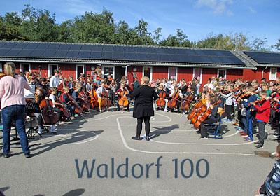 Skolen fejrer Waldorf 100