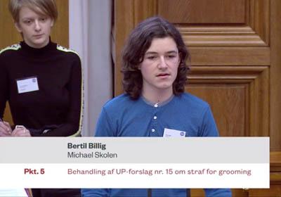Ungdomsparlament på Christiansborg